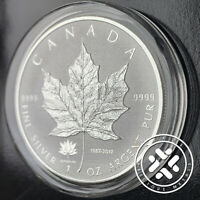 2017 150TH ANNIVERSARY PRIVY 1OZ PURE SILVER MAPLE LEAF REVERSE PROOF COIN wCAPS