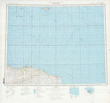 Russian Soviet Military Topographic Maps  - TRIPOLI (Libya), 1:1Mio, ed.1979