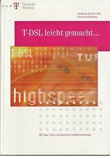 T-DSL leicht gemacht, Handbuch für T-DSL Inhouse Verkabelung