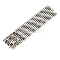 10 Pcs 0.5-5.0mm Micro HSS Twist Drilling Auger Drill Bits for Electrical Drill