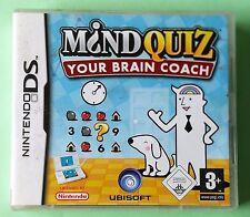 Mind Quiz tu cerebro entrenador Ds Lite Dsi formación juego nuevo original de Reino Unido