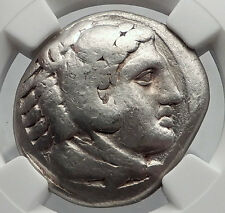 ALEXANDER III the GREAT 311BC Silver Tetradrachm Ancient Greek Coin NGC i60188