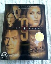 THE X FILES – COMPLETE NINTH SEASON- DVD, 7-DISC BOX SET,R-4, LIKE NEW FREE POST