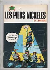 Les Pieds Nickelés et l'énergie. Album n°87. SPE EO 1975. PELLOS. EO - TBE