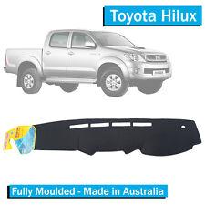 TO FIT: Toyota Hilux (2012-2015) - Dash Mat - Black - Fully Moulded - SR5 SR