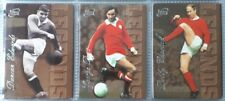 Futera SILVER Legends 1997 MANCHESTER UNITED 6 Card Set