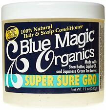 Blue Magic Organics Super Sure Gro 100% Natural Hair and Scalp Conditioner 12oz