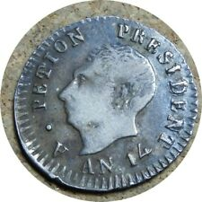 elf Haiti Western Republic 25 Centimes  An 14 (1817)