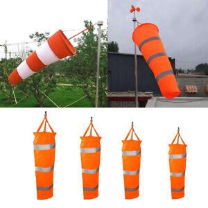 60-150CM Outdoor Aviation Windsock Wind Sock Bag Measurement Reflective Belt