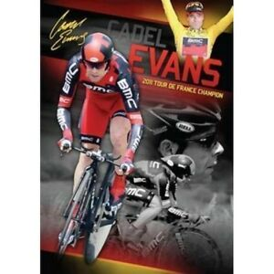 CADEL EVANS SIGNED 2011 TOUR DE FRANCE CHAMPION LIMITED EDITION PRINT FROOME
