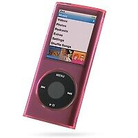 Crystal Acrylic Hard Case for 4th Generation iPod Nano 4G (Pink)