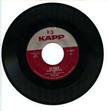 "Russ Hamilton ""Rainbow"" Vinyl 45rpm single Kapp K-184X 1957 G+"