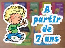 Lot 7 livres Cédric dès 7 ans - Bibliothèque Rose (A lire = pas BD) / Blocs Jeux