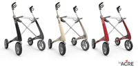 ByAcre Carbon Ultralight Rollator - Lightweight and Stylish - 2 Sizes