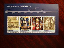 Gb 2010 Kings & Queens Minisheet (3rd.Issue) Four Values to 81p Mnh.
