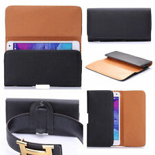 ★PACK OF 2 ★ SAMSUNG Galaxy On Nxt ★PU Leather Magnetic Flip Belt Hip Pouch Case
