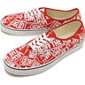 Vans UA Authentic OTW Repeat Red White Men Lifestyle Sneakers Skate VN0A38EMUKL