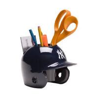New York Yankees MLB Baseball Schutt Mini Batting Helmet Desk Caddy
