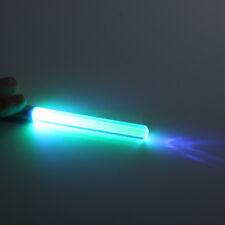 Led Flash Light Laser Pointer Glow Uv Keychain Torch Lightsaber Key Chain Us