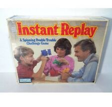 Vintage Board Game Instant Replay 1980's Parker Brothers 1987 Puzzle Challenge