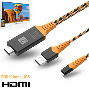 1080P HDMI TV Screen Display 1080p Adapter Kabel Für Apple iPhone iPad iOS