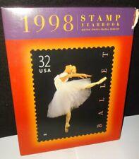 USPS 1998 commemorative stamp collection picture book post office memorabilia