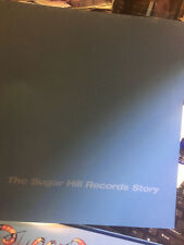 The Sugar Hill Records Story by Various Artists book, lp's but missing 1 cd