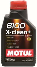 Engine Oil-8100 X-Clean + 5W30 12X1L - Synthetic MOTUL 106376
