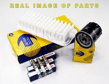 Peugeot 107 1.0 cc Service Kit Comline Air - Oil - Filter 3x Bosch Spark Plugs