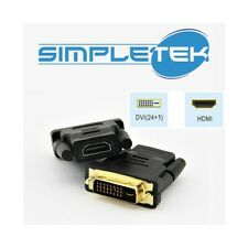 ADATTATORE HDMI CAVO DUAL LINK 24+1 DVI VIDEO PC COMPUTER DESKTOP MONITOR-