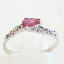 Ring Gold 585er Diamanten Rubin Goldringe 14 kt. Edelstein