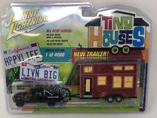 Johnny Lightning Tiny Houses 1996 Black Dodge Ram 1500 w/ Tiny House (1 of 4000)