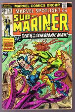 MARVEL Comics Marvel spot light on Sub Mariner no 27 April 1976