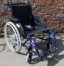 Silla de ruedas de práctica limpio Silla De Ruedas Plegable Adulto Invacare acción 3 Azul