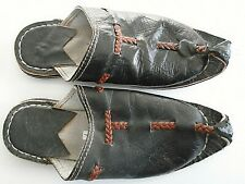 Unbranded Handmade Arabian men's leather slippers size 8 - 8.5 US