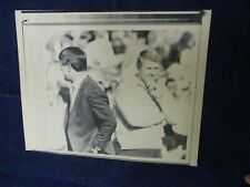 1987 Nfl Dan Reeves & Bill Parcells head coaches Vintage Wire Press Photo