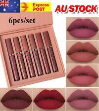 Lipstick Lip Make-up 6PCS/Set Long Lasting Lip Gloss Glazed Matte