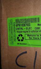 W10387653 Kitchenaid cooktop control board