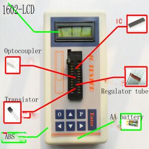 Integrated Circuit IC Tester transistor tester online maintenance Digital LED