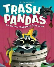 ADULT OWNER + SEALED Trash Pandas - The Raucous Raccoon Card Game by Gamewright