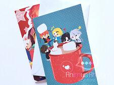 Mystic Messenger Holiday Greeting Card Set 707 zen Jumin Jaehee Yoosung app game