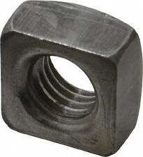 "(250) 3/8""-16 SQUARE NUTS - PLAIN"