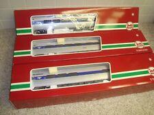 LGB Amtrak Phase 5 Acela Passenger Car Set G scale 33220 33223 33224 brand new