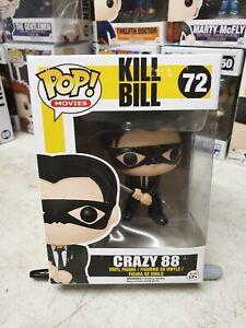 Funko POP! Vinyl. #72 Crazy 88 - Kill Bill - FREE POP PROTECTOR Movies