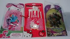 Collapsable water bottles 3 pcs My little pony, Hello Kitty , Teenage mutant nin