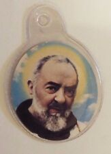 Saint Padre Pio 3rd Class Relic, Encased in Plastic, New From Italy
