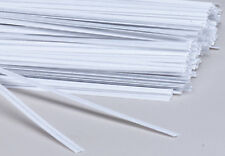 """Paper Twist ties -7 Inch Long x 5/16"""" wide pack 2000 pcs. Red, White or Green"""