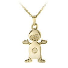 "14K Gold Filled Doll Necklace, 18"""
