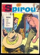 Spirou 1547 du 7.12.1967 bien complet avec les 8 fiches et le mini-récit
