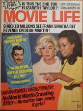 MOVIE LIFE magazine April 1969 Doris Day Diahann Carroll Clark Cable Cover NICE!